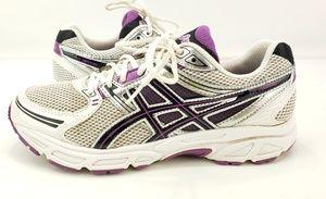 Women's ASICS GEL CONTEND Running Shoes White/Purp